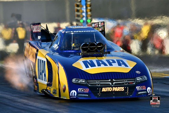 Capps records career best at Topeka